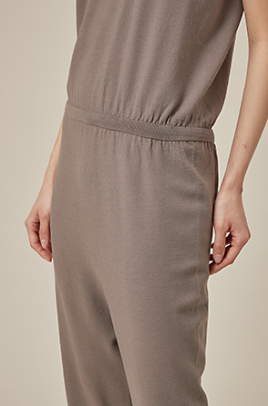 Whole garment two-way jumpsuit