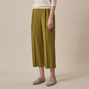 Two tuck twill pants
