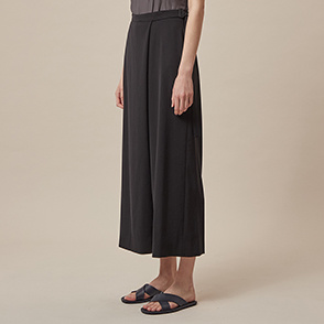 Split wide pants