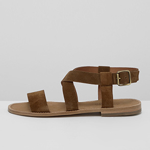 [ANTHOLOGY PARIS] Suede strap sandals