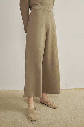 Banding knit pants