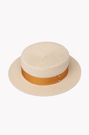 Line tape straw boater