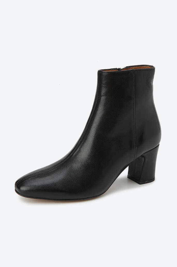 [Anthology Paris] Slim middle ankle boots