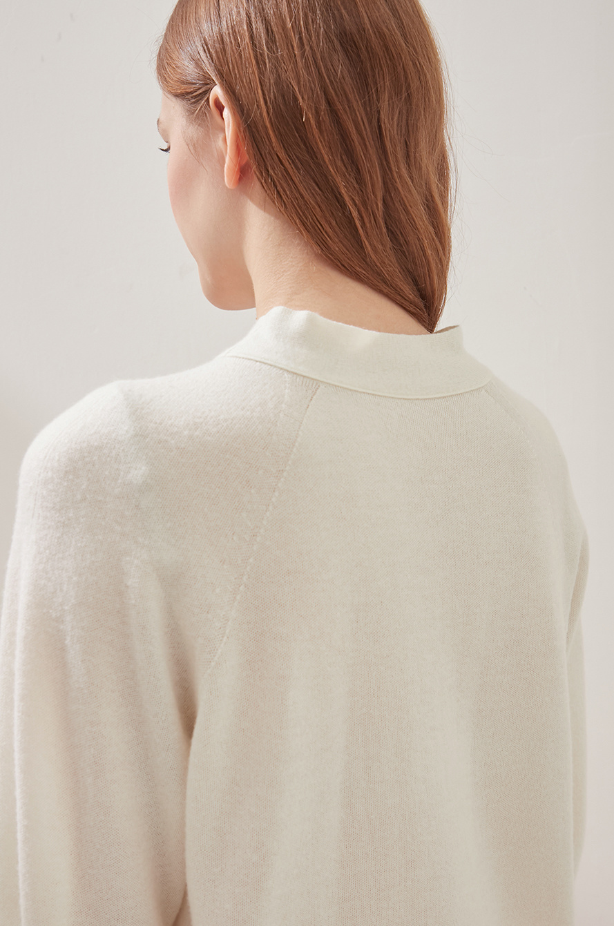 [CLASSY LUX] Strap two-way knit top