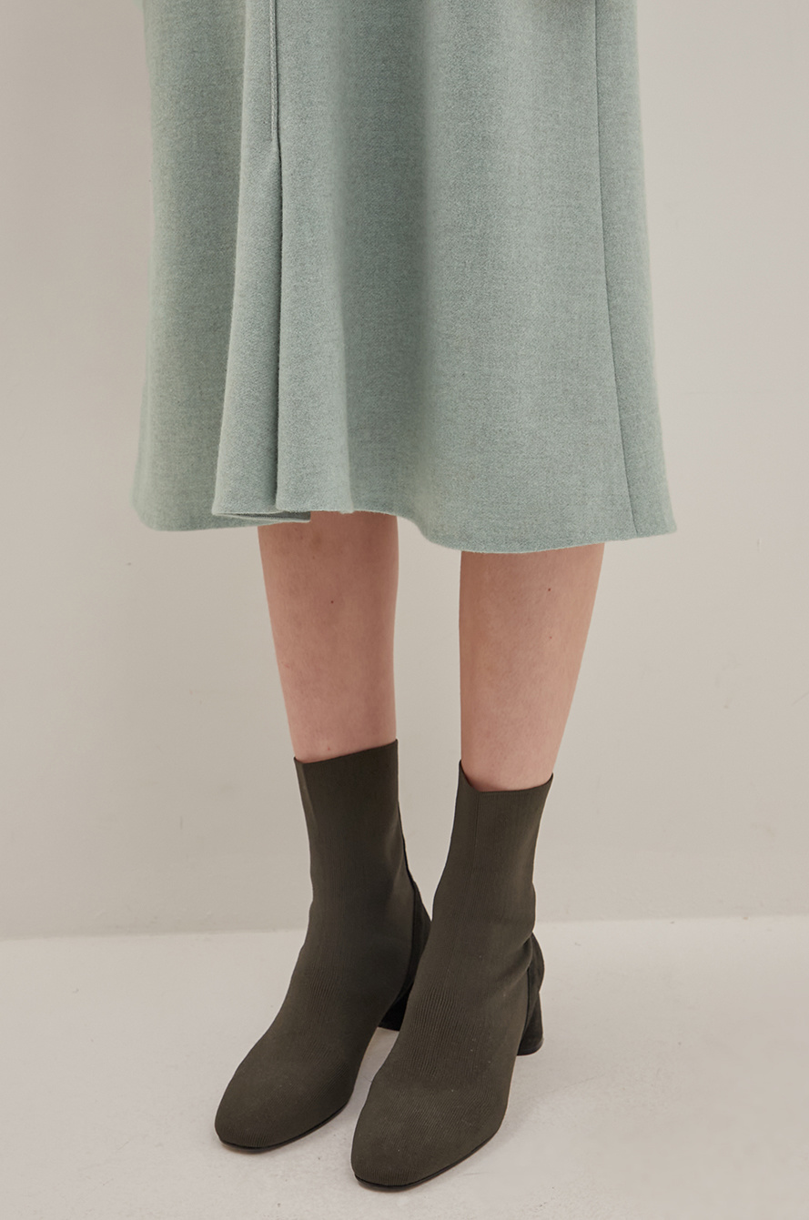 Cashmere knit dress