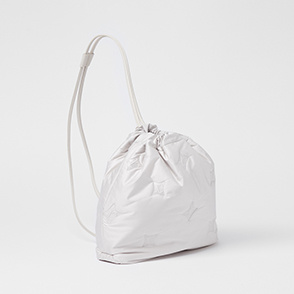 Drawstring two-way bag