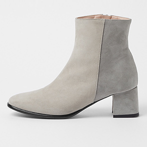 [CORSO ROMA 9] Color block ankle boots