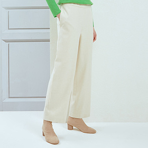 Banding block pants