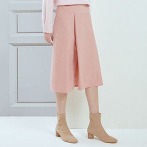 Slit banding skirt