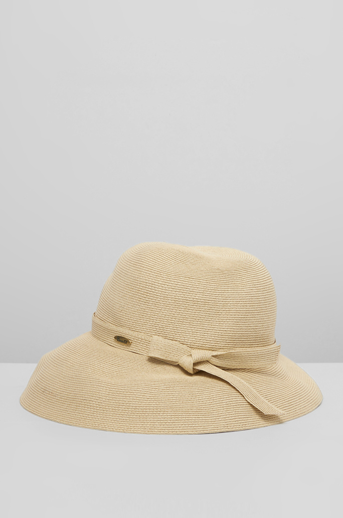 [BRONTE] Ribbon strap hat