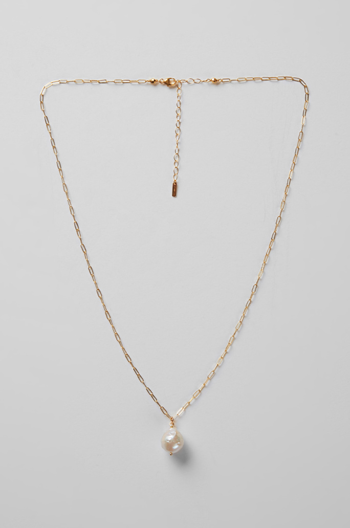 [CHAN LUU] Pearl chain necklace