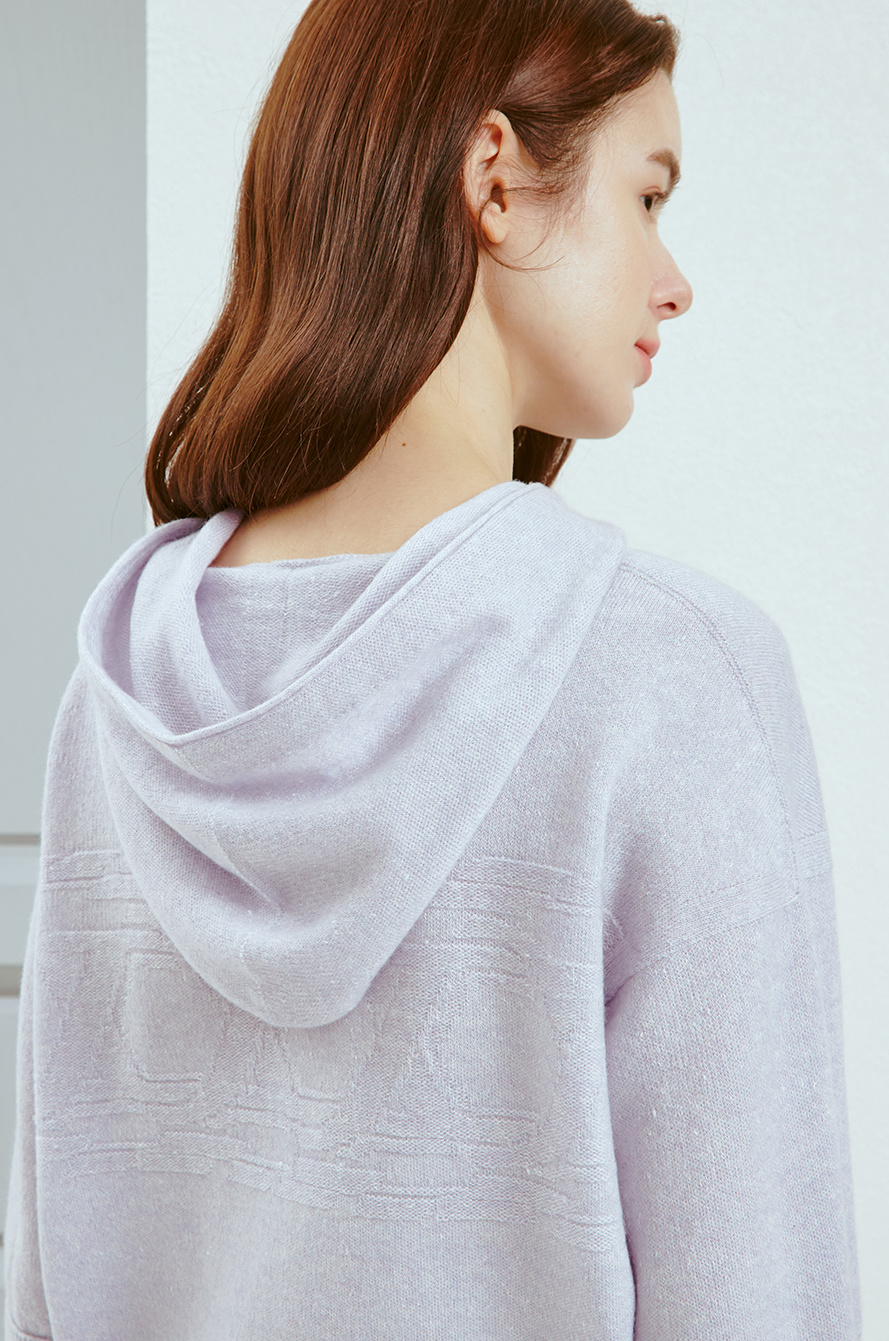 [CLASSY LUX] Detachable sleeve knit top