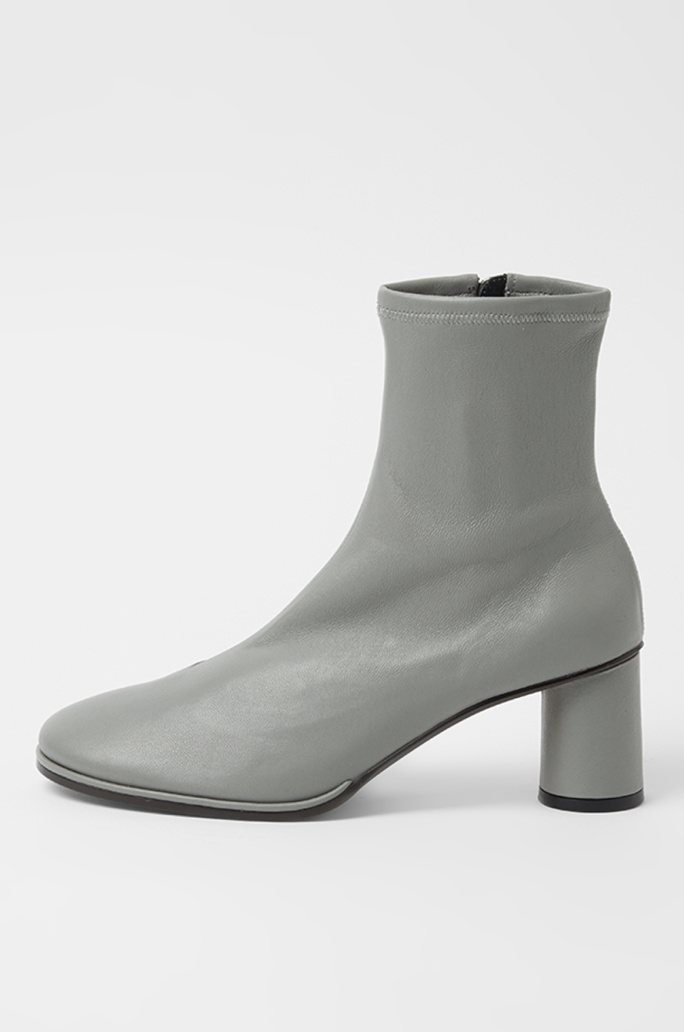 Leather socks boots