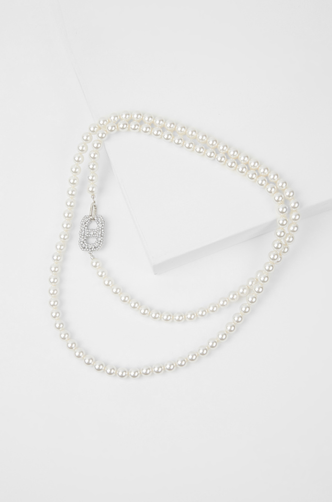 two way pearl necklace