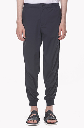 Zipper pocket track pants