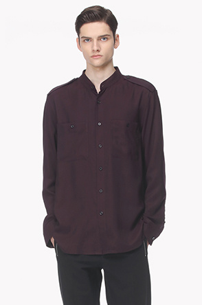 Epaulet pocket shirt