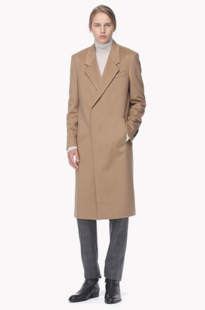 Cashmere two button coat