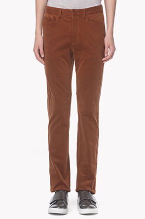 Coduroy straight pants