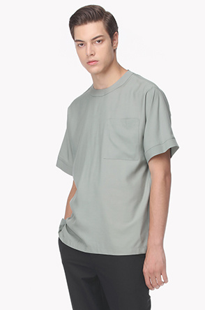 Patch pocket T shirt