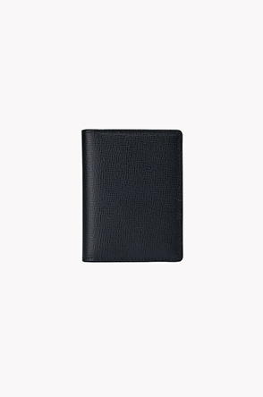 Leather two fold card wallet