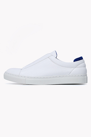 Banding slip on sneakers