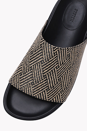 Weave strap slippers