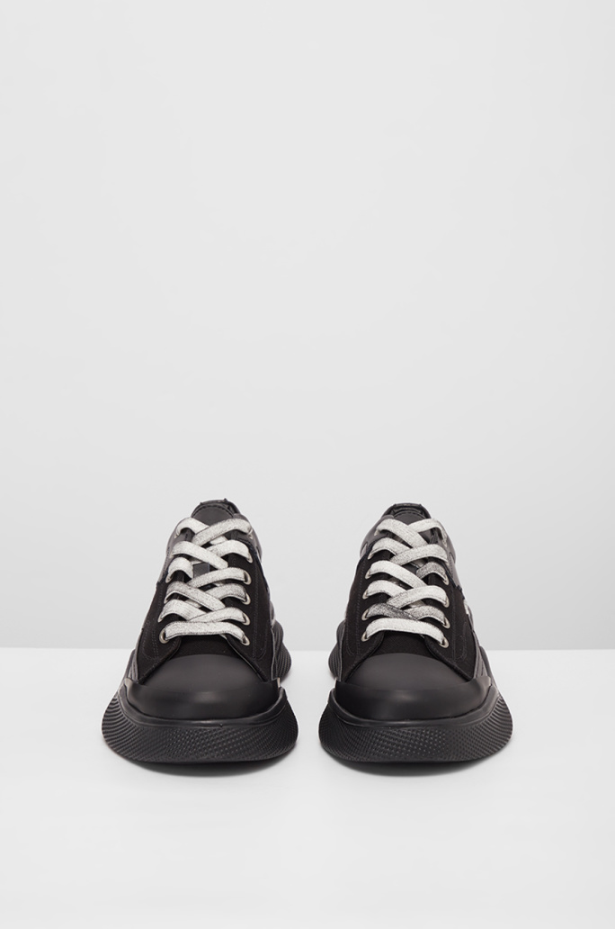 Wave sole sneakers