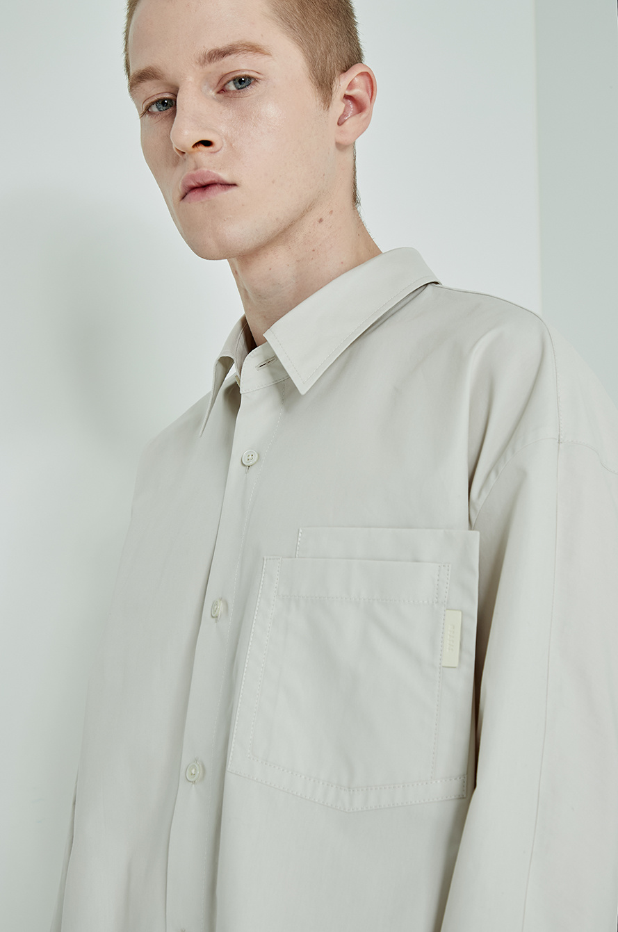 Layer pocket shirt