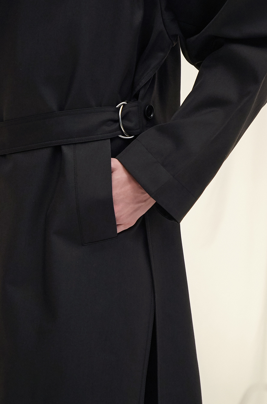 [PARIS] Belted trench coat