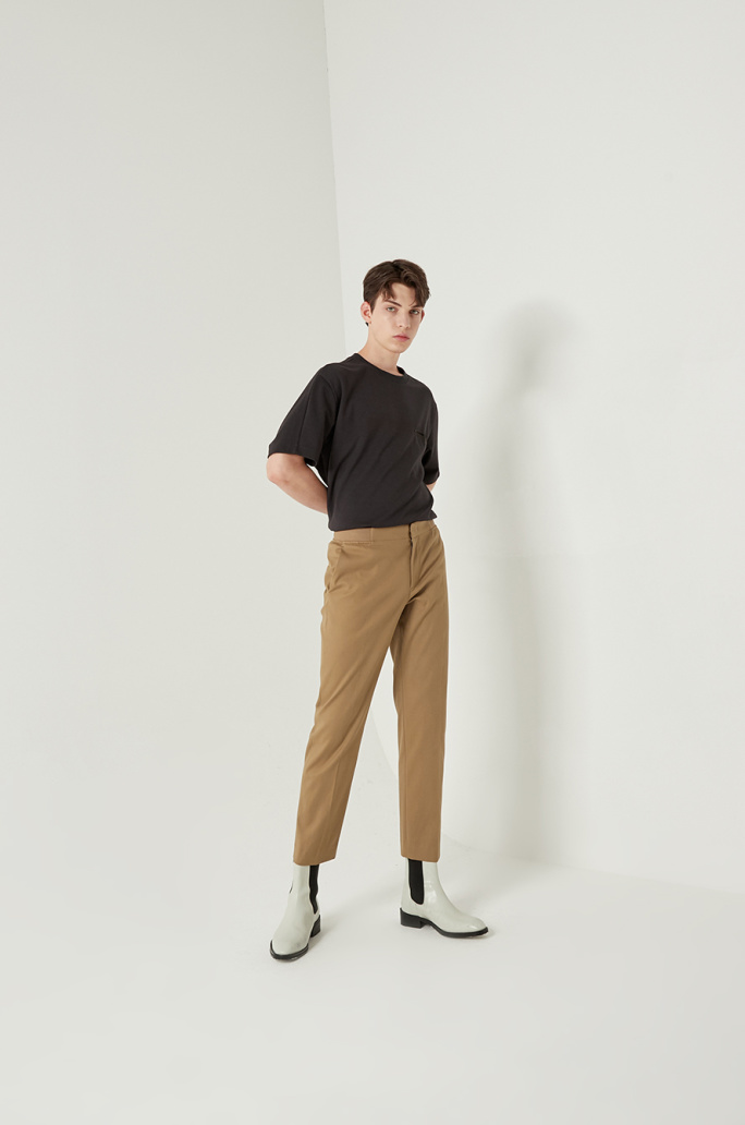 Banding straight pants