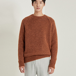 Double faced knit sweater