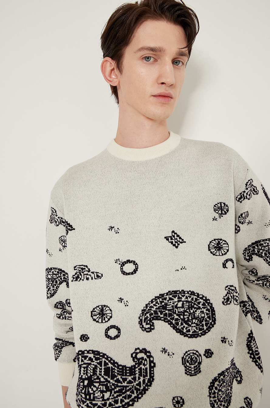 [BTS │ SYSTEM] Wool knit sweater