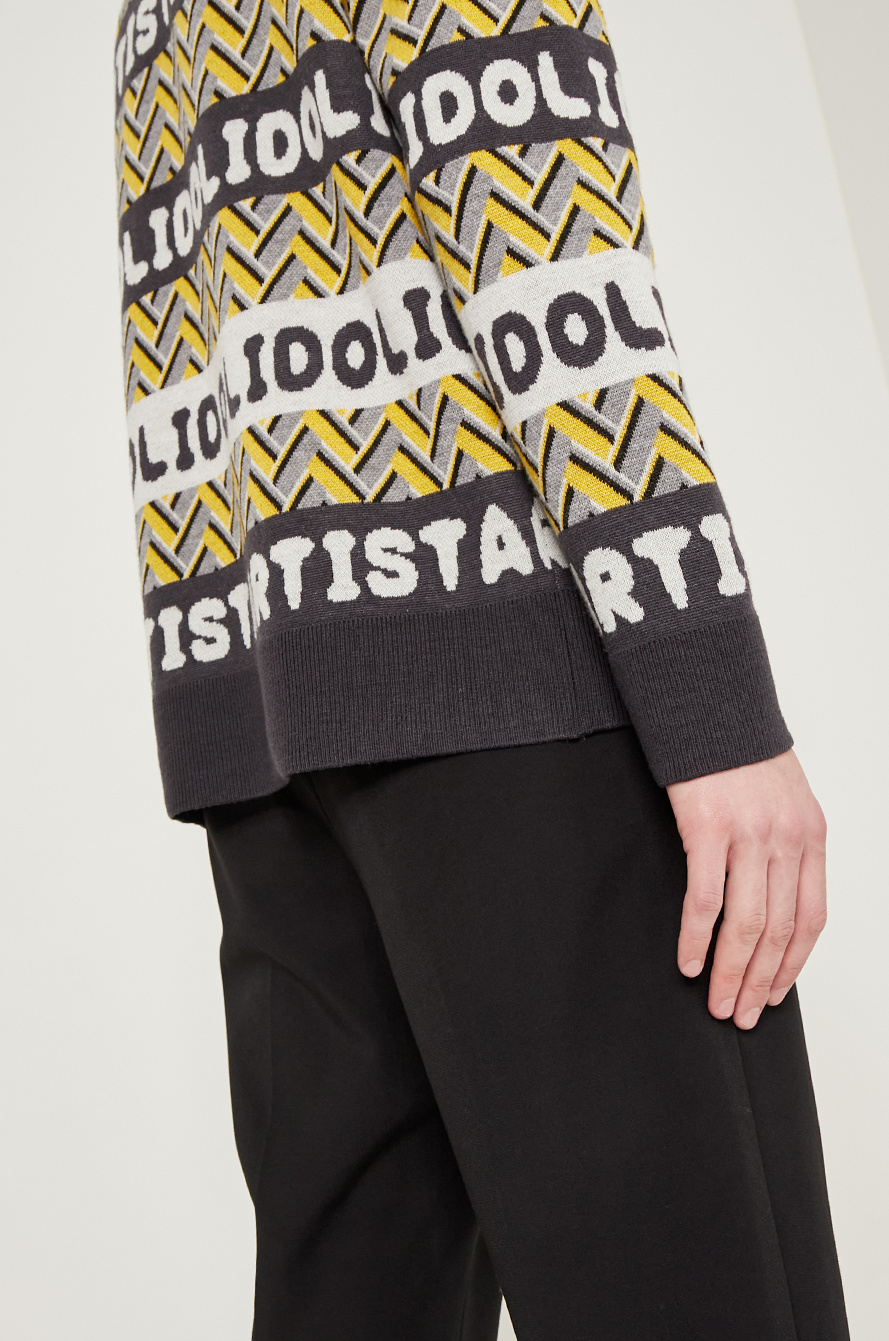 [BTS │ SYSTEM] Lettering knit sweater