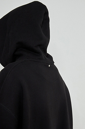 Over fit hood t-shirt