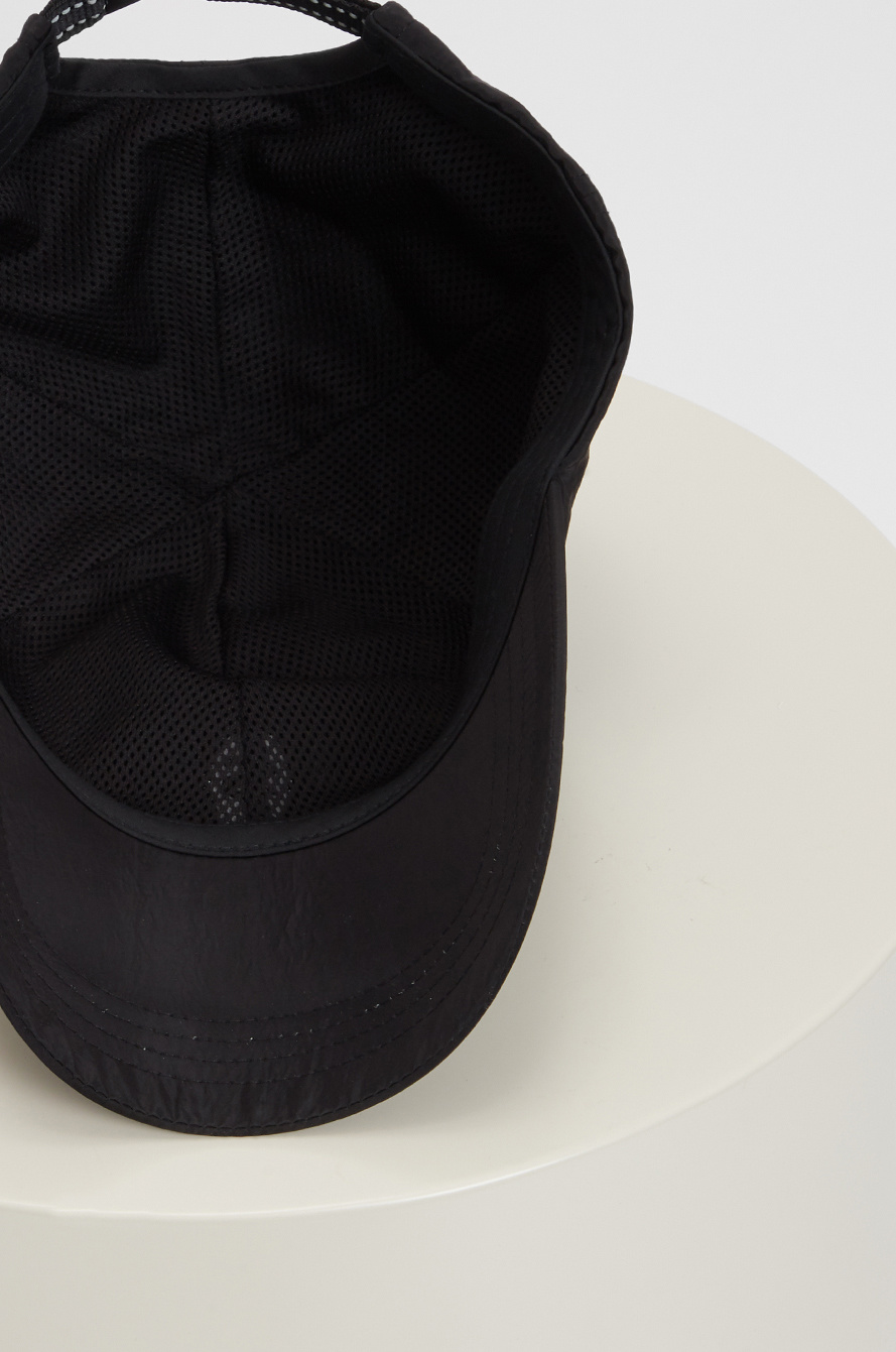 Embroidered woven cap