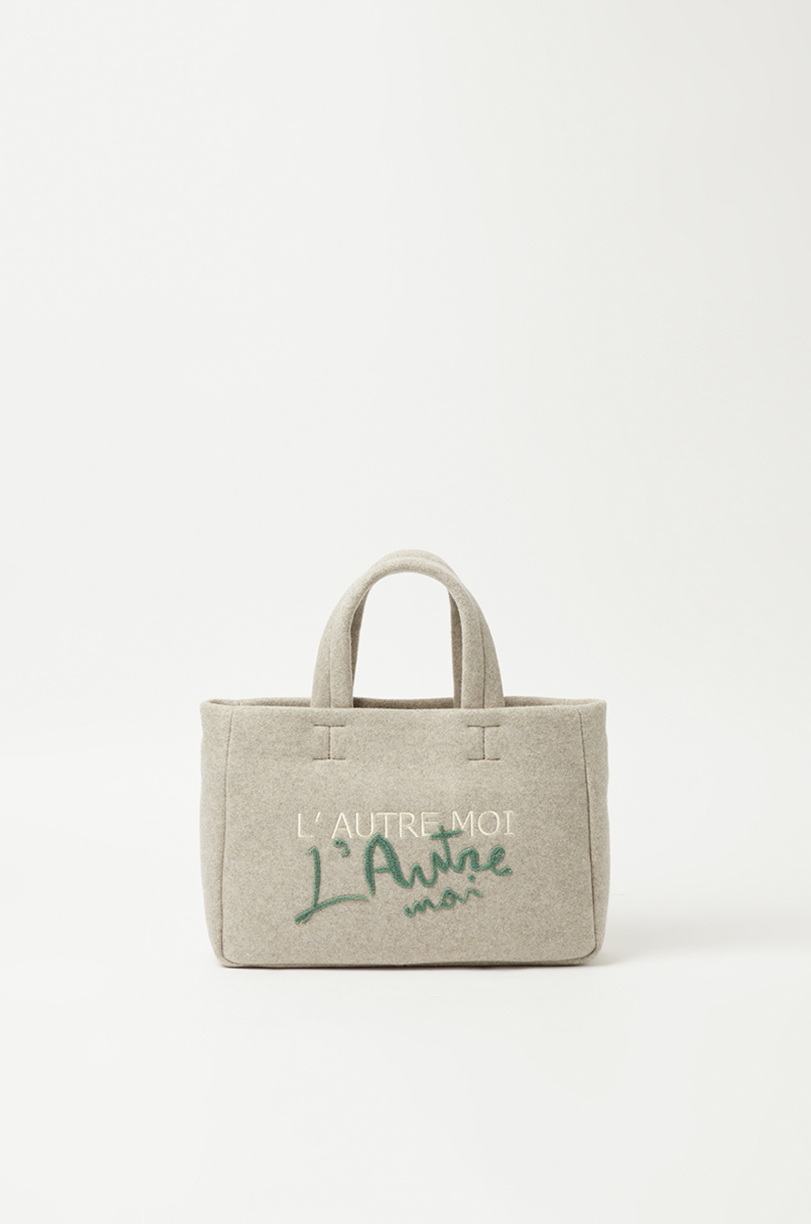 Lettering two-way bag
