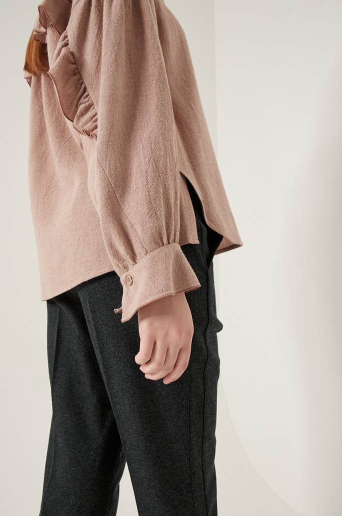 Frill blouse