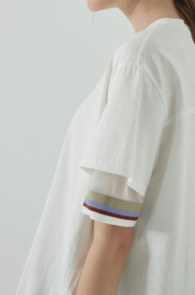 Layer sleeve t-shirt