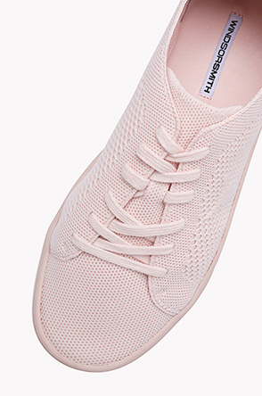 Texture knitted sneakers