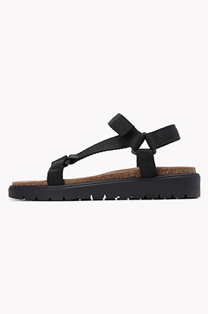 [SYSTEM2] Velcro strap sandals