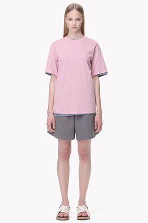 [SYSTEM2] Layered double T shirt