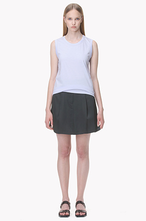 [SYSTEM2] Pleated short pants