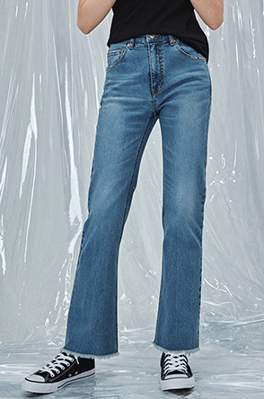 [SYSTEM2] HIGHRISE DISCO FLARE JEANS