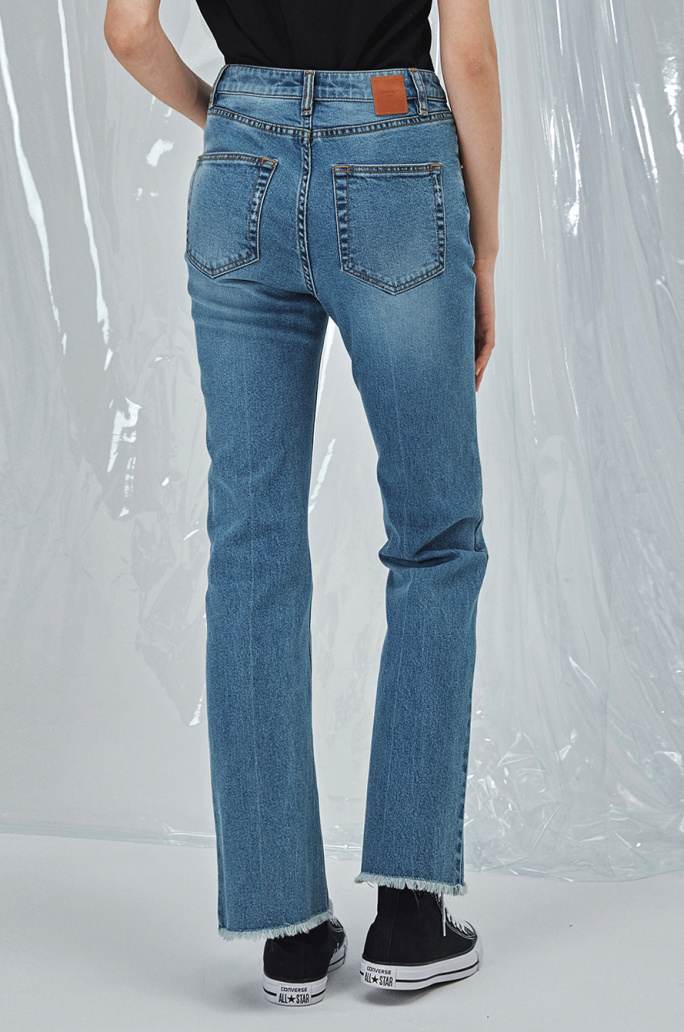 HIGHRISE DISCO FLARE JEANS