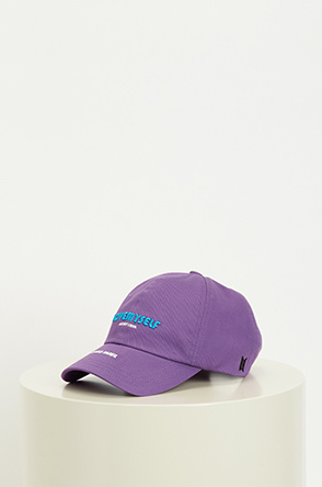 Lettering embroidery cap