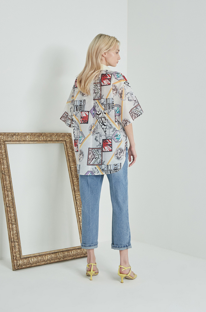 Artwork print shirt