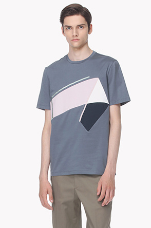 Color block T shirt