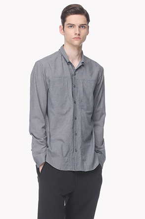 Micro checked shirt