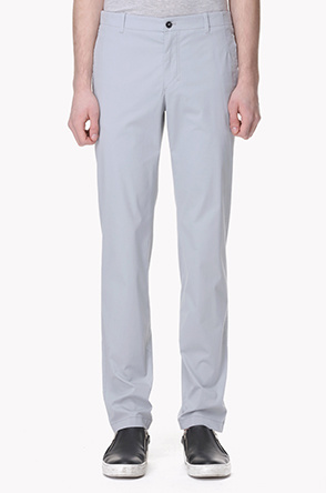 Cotton blend stretch pants