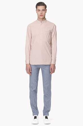 One pocket buttoned shirt